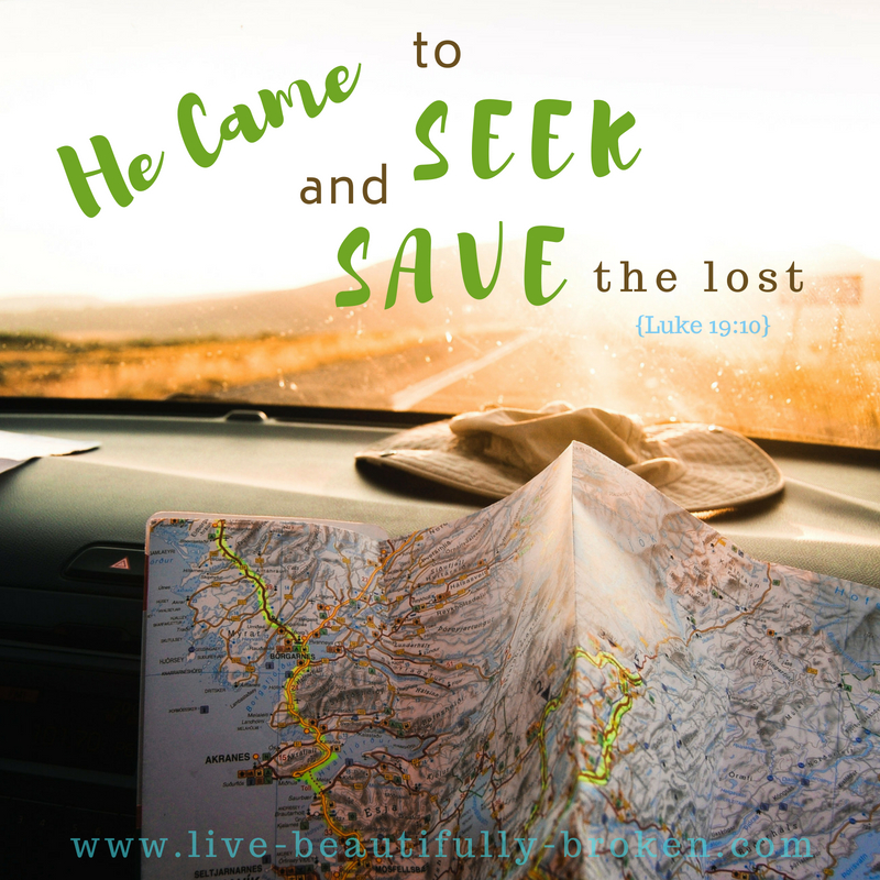 seek and save the lost