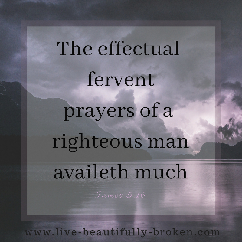 The effectual ferventprayers of a righteous manavaileth much